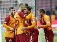 Yunus Akgun Goal Celebration Galatasaray Boluspor Turkish Cup 01/29/19