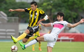 Hong Kong Premier league, Lee Man 2:2 Dreams FC.