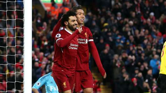 Liverpool Salah Firmino Watford