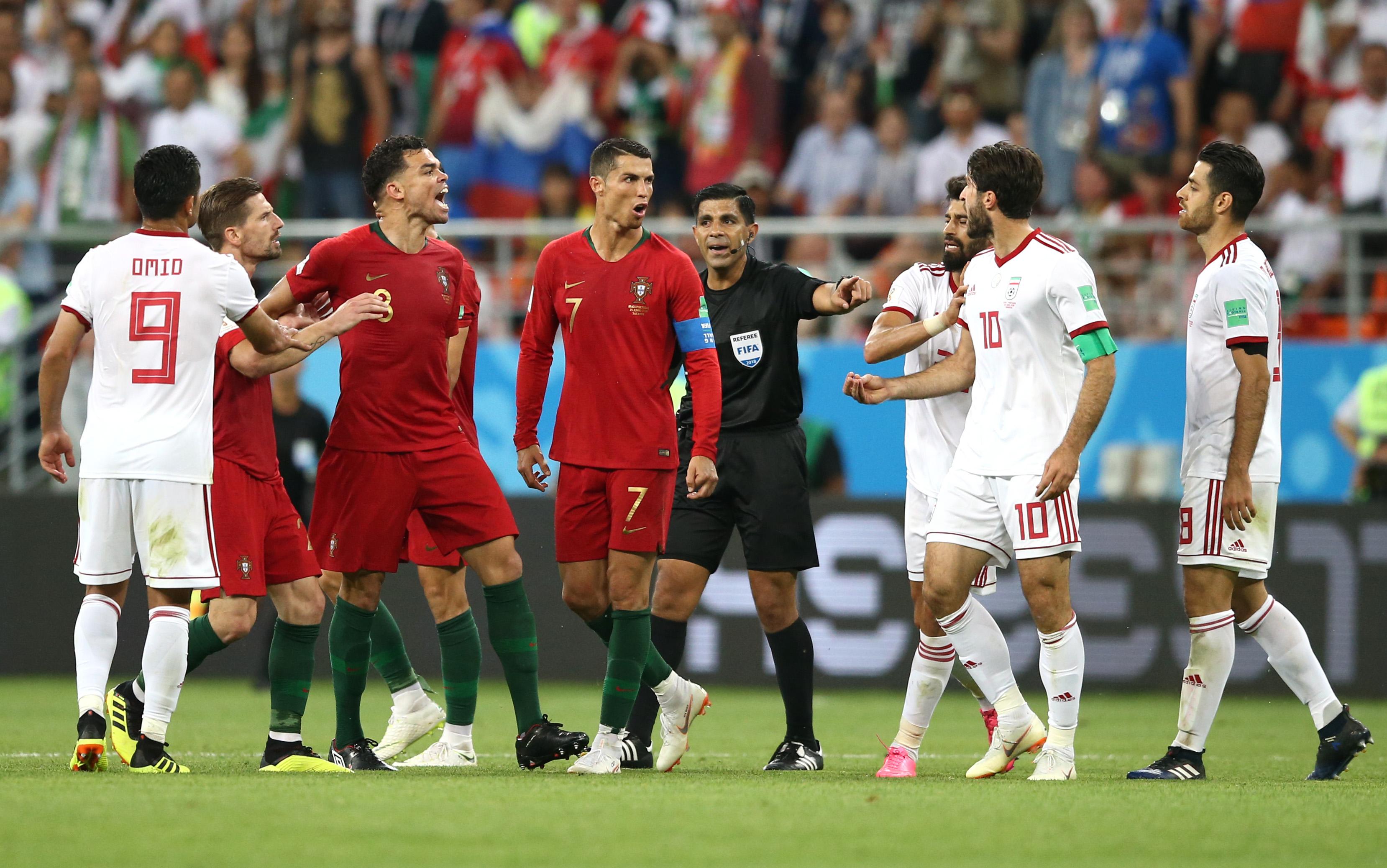 Cristiano Ronaldo Portugal Iran