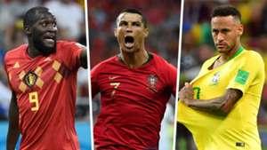 Romelu Lukaku Cristiano Ronaldo Neymar GFX