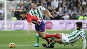 Saul Betis Atletico Madrid LaLiga