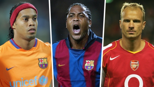 Stam, Ronaldinho, Bergkamp & Kluivert's dream XI   Goal com