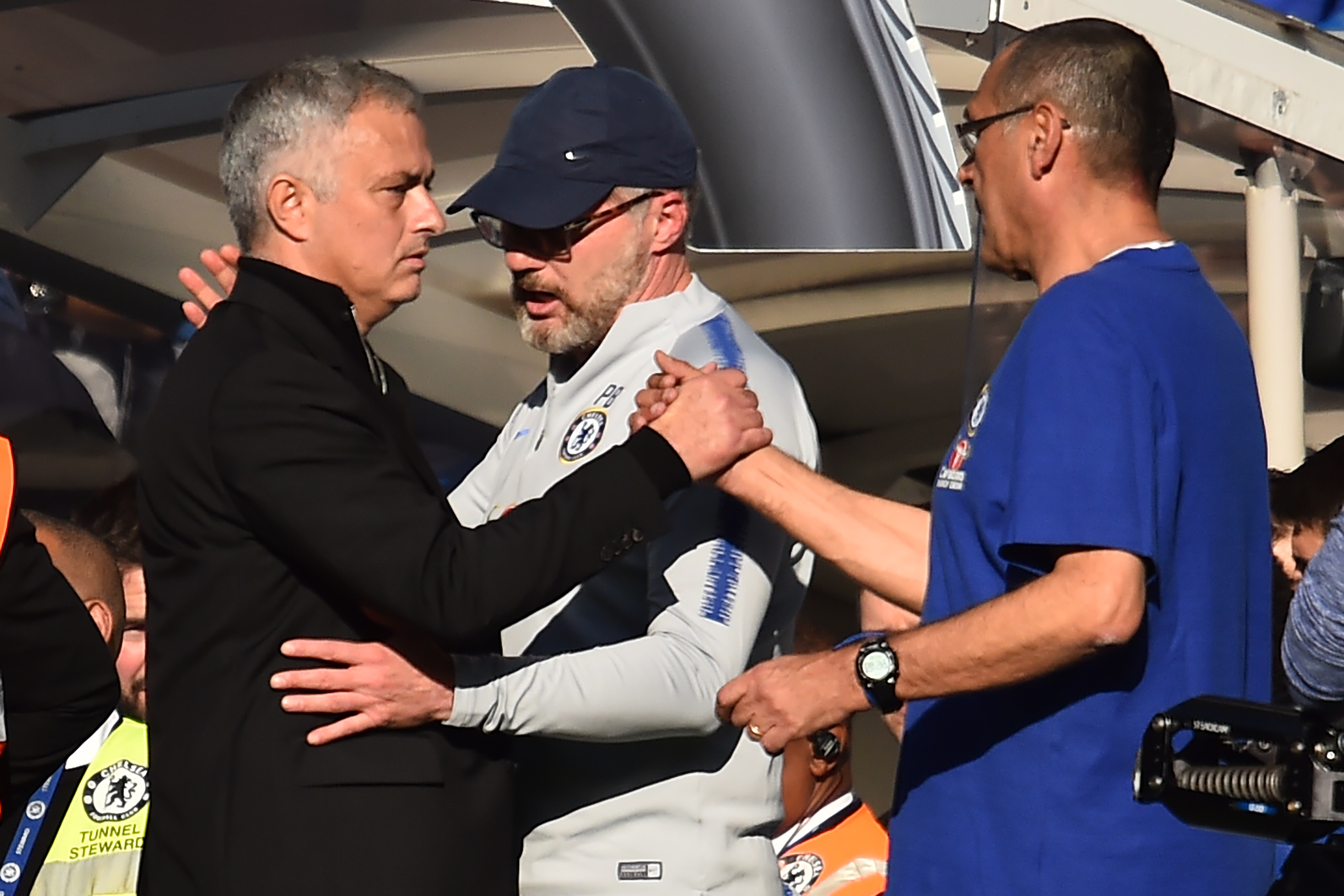 Jose Mourinho accepts apology from Chelsea coach Marco Ianni for celebration