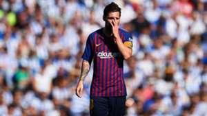 Lionel Messi Real Sociedad Barcelona LaLiga 15092018