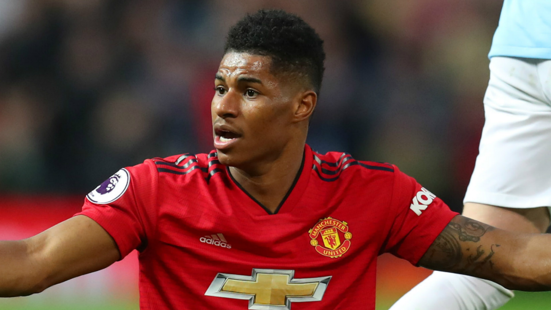 'Start playing like Manchester United', pleads Rashford