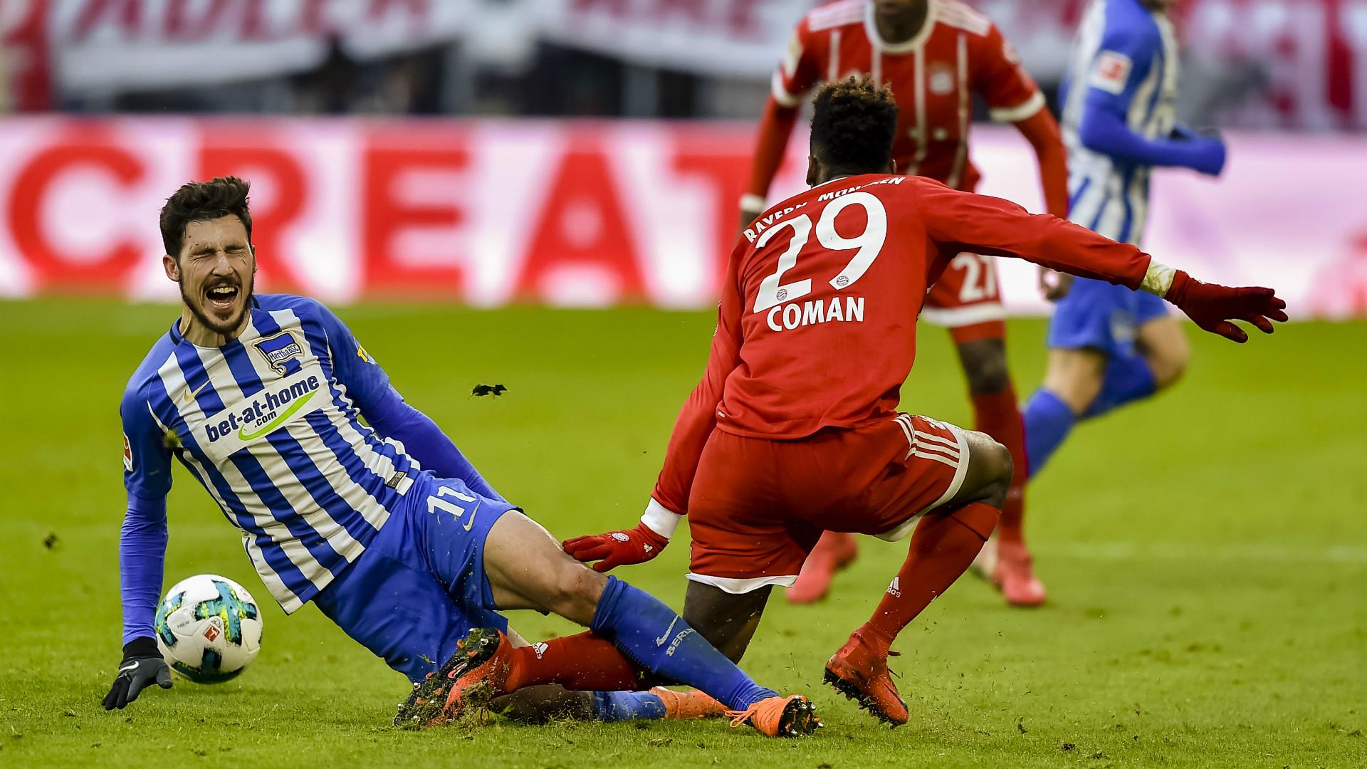 FC Bayern: Coman verletzt sich am Sprunggelenk