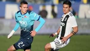 Dybala Castagne Atalanta Juventus Serie A