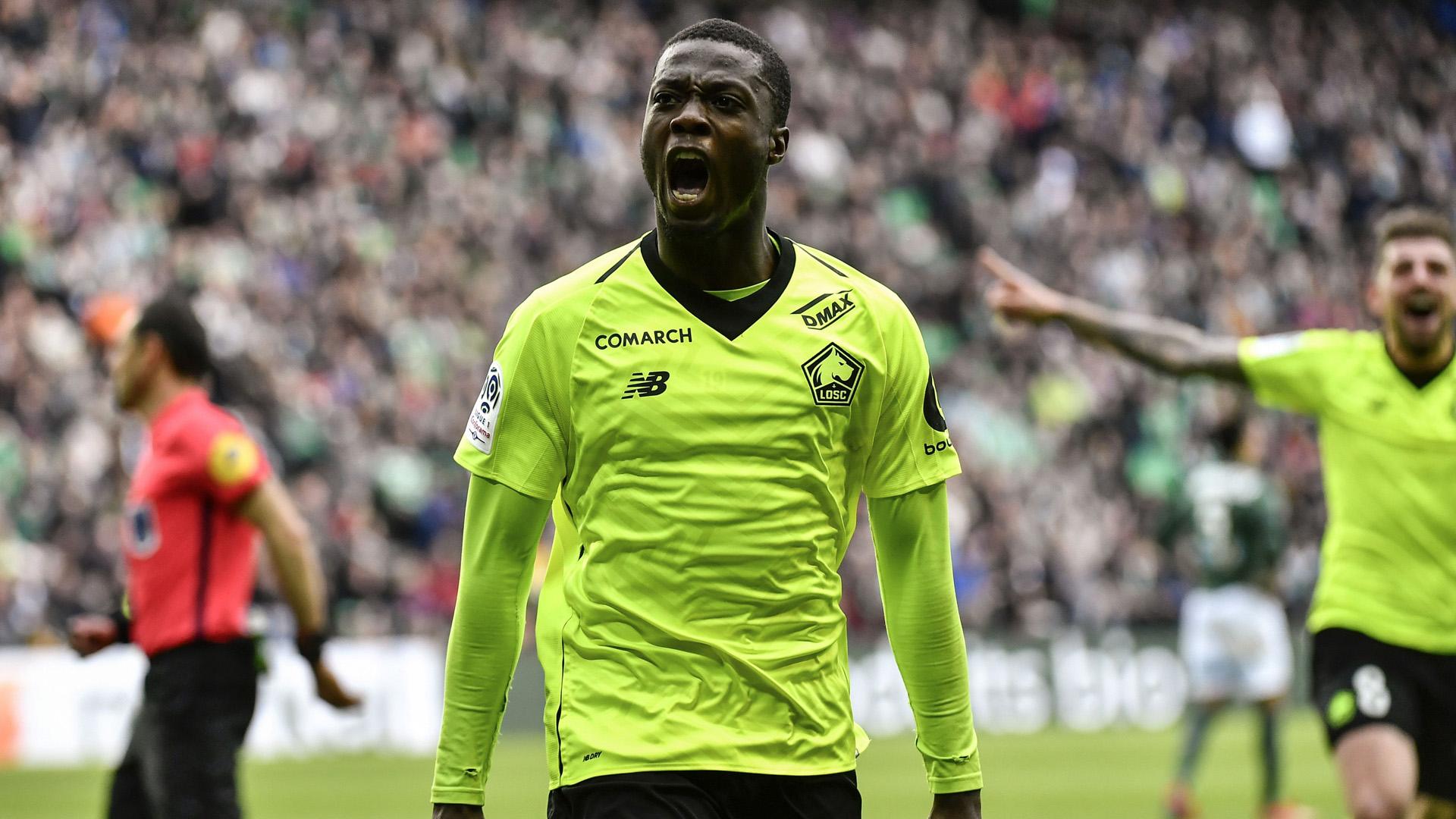 Everton s'ajoute à la liste des prétendants pour Pépé — Lille