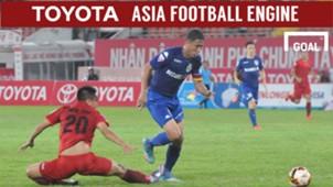 Hải Phòng B.Bình Dương Vòng 17 V.League 2017