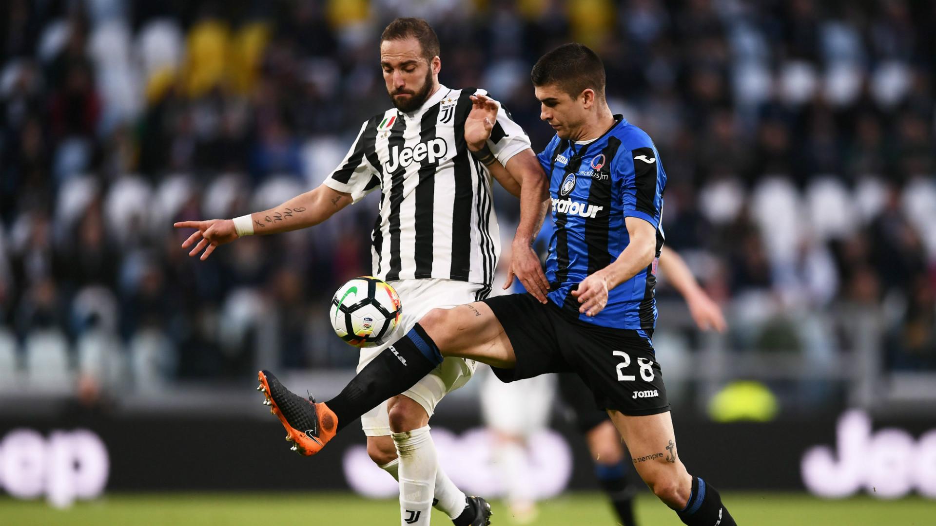 Gonzalo Higuain Gianluca Mancini Juventus Atalanta Serie A