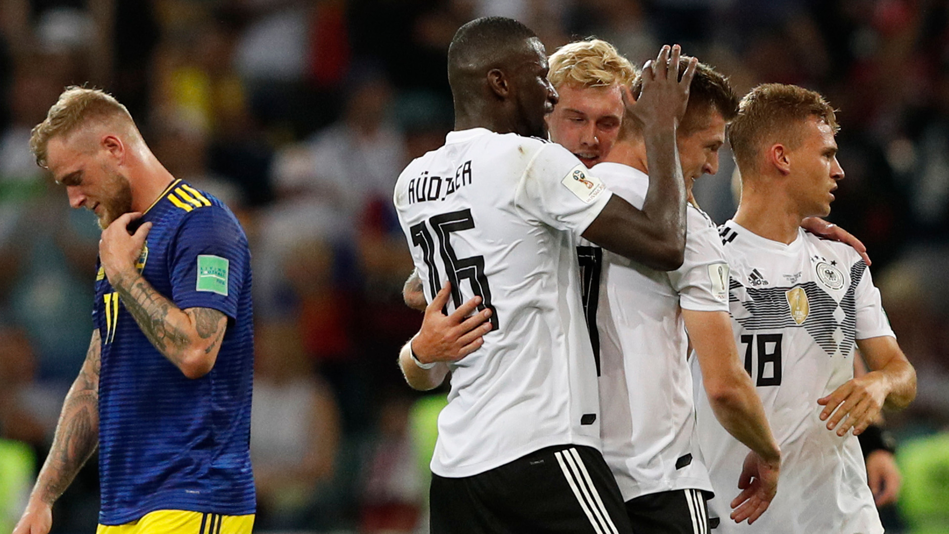 Toni Kroos Germany Sweden World Cup