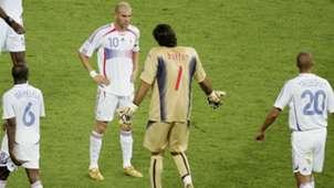 Frankreich Italien Buffon Zidane 09072006