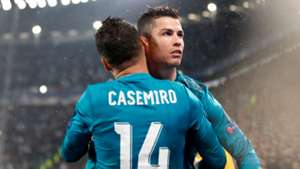 Casemiro/Ronaldo Real Madrid