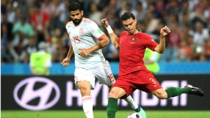 Diego Costa Pepe Portugal Spain 12162018 World Cup