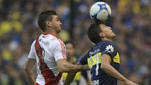 Lucas Alario Santiago Vergini Boca Juniors River Plate Primera Division 14052017