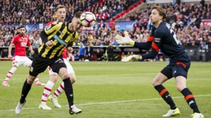 Ricky van Wolfswinkel, Tim Krul, AZ vs. Vitesse, 04302017
