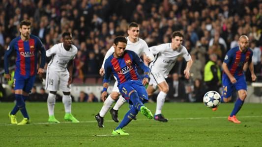 Barcelona penalty