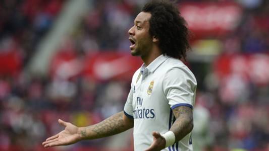 Marcelo Sporting Gijon Real Madrid La Liga