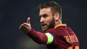 Daniele De Rossi Roma Lione Europa League
