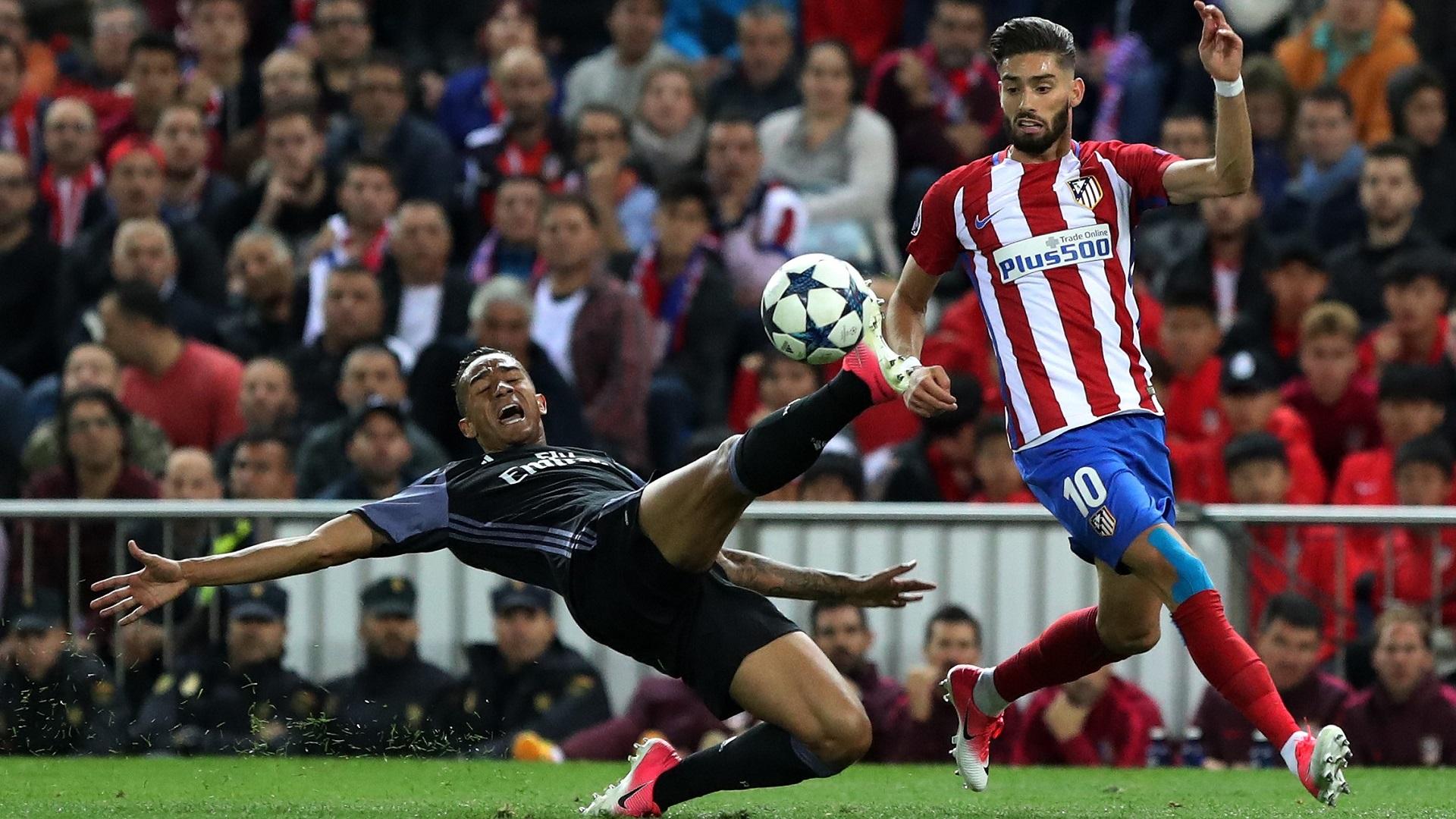 Danilo Pereira Yannick Carrasco Atletico Real Madrid UCL 10052017