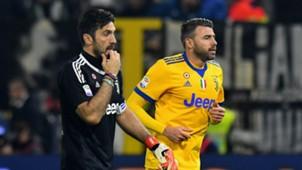 Gianluigi Buffon Andrea Barzagli SPAL Juventus Serie A