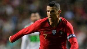 Cristiano Ronaldo Portugal Algeria friendly 2018