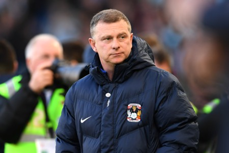 Mark Robbins Coventry City manager