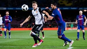 Luis Suarez Gabriel Paulista Barcelona Valencia Copa del Rey