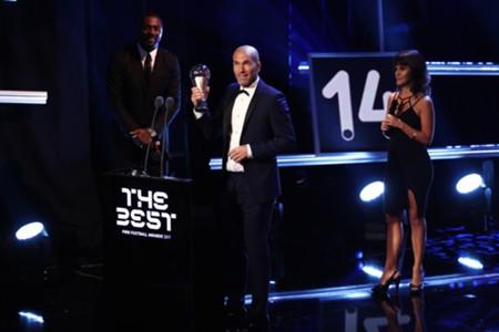 Zidane win Coach of the year