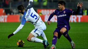 Giovanni Simeone Roberto Gagliardini Fiorentina Inter Serie A