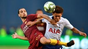 Luke Amos Javier Pastore Tottenham Roma ICC 2018
