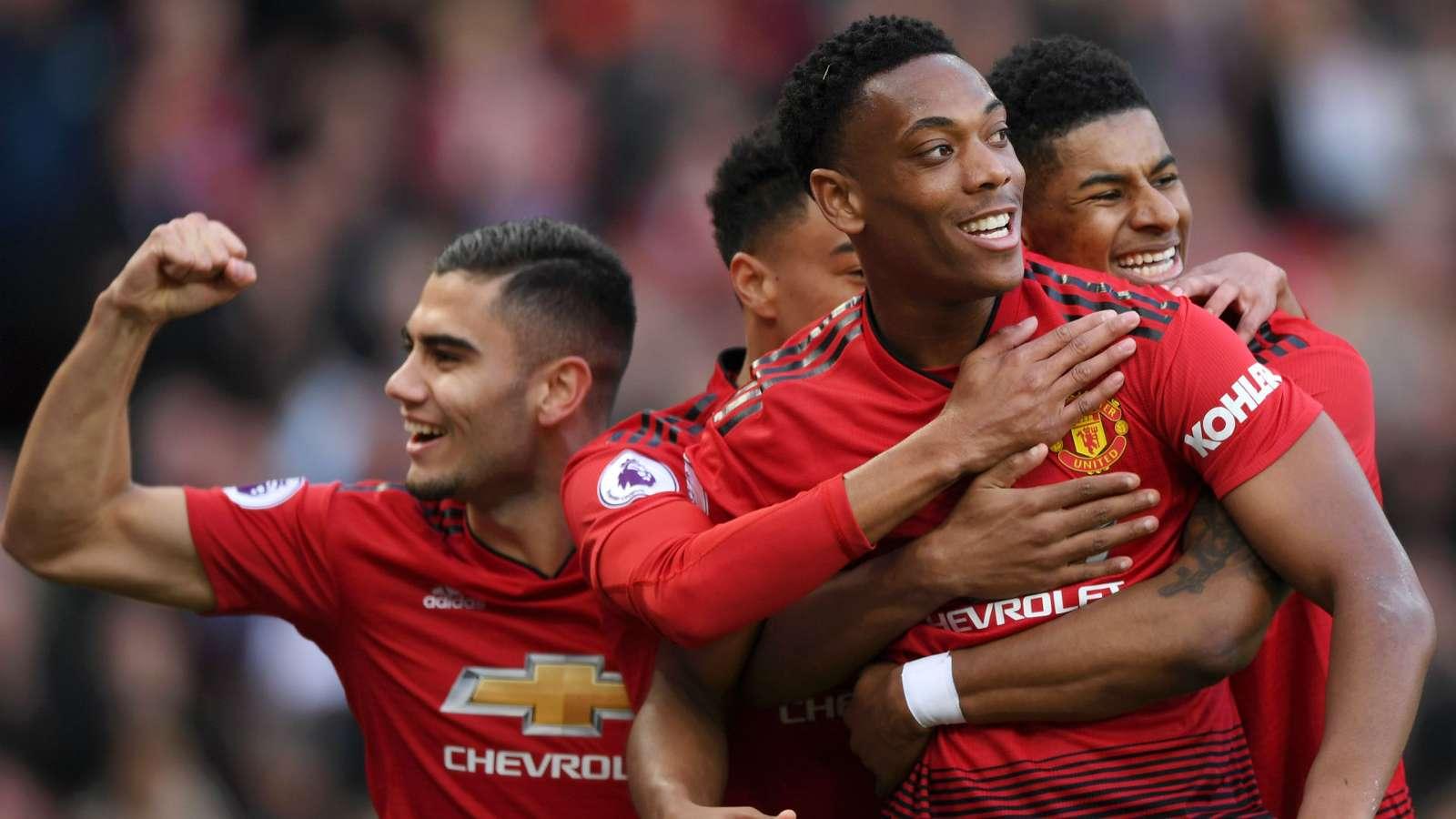 Manchester United-Watford 2-1, Martial et MU font le travail
