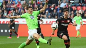 Mario Gomez VfL Wolfsburg Bundesliga 02042017