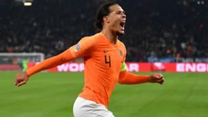 Virgil van Dijk Netherlands 11192018