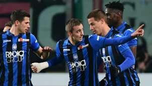 Atalanta celebrating Atalanta Juventus Coppa Italia