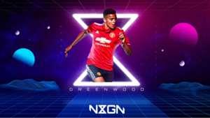 Mason Greenwood Man Utd NxGn GFX