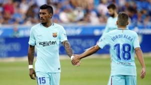 Paulinho Barcelona x Alavés 26 08 17