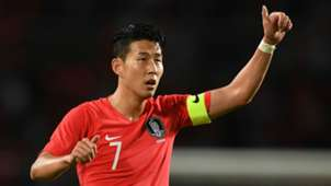 Son Heung-min South Korea 2018-19