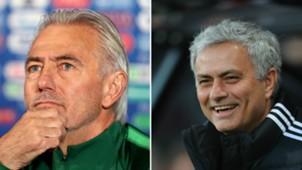 Bert van Marwijk/ Jose Mourinho