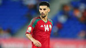 Mbark Boussoufa of Morocco