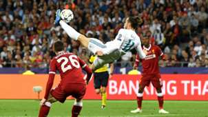 Gareth Bale overhead kick Real Madrid Liverpool Champions League final 260518