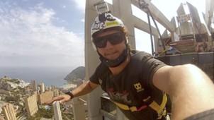 Gustavo Areias paraquedista Flamengo