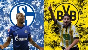 GFX Schalke Dortmund Derby