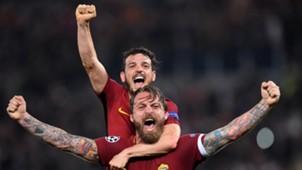 Florenzi De Rossi AS Roma 10042018