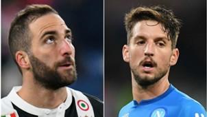 Higuain Mertens - Juventus Napoli