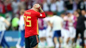 Sergio Ramos Spain Russia World Cup 2018