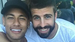 INSTAGRAM Neymar Pique