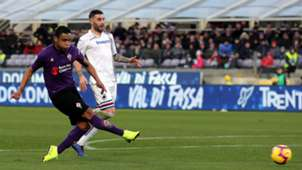 Luis Fernando Muriel Fiorentina Sampdoria Seria A 01202019