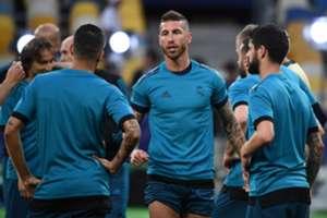 Sergio RamosReal Madrid final UEFA Champions League 2018
